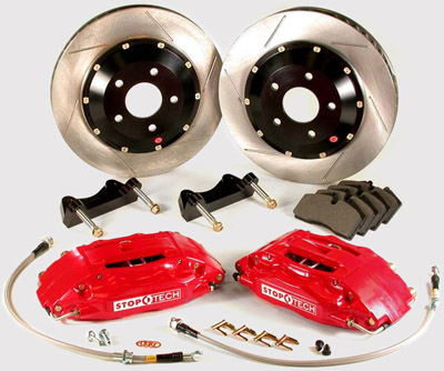 Stoptech Front & Rear 14'' Big Brake Kit for 1993-98 Supra