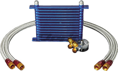 Greddy Oil Cooler Kit for 1993-98 Supra - 16 Row
