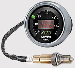 AEM Gauge-Type UEGO Kit w/AFR Sensor