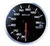 Defi BF Oil Temperature Gauge (WHITE)